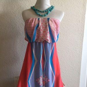 Strapless, party/summer dress 👗